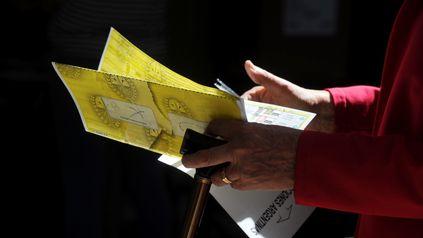 En la categoría concejal se votó con la boleta única.