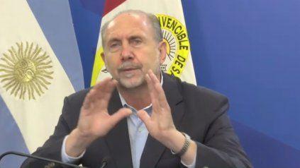 El gobernador Omar Perotti destacó el avance de la campaña de vacunación en la provincia de Santa Fe.