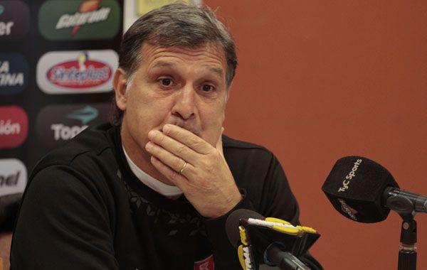El Tata calificó el encuentro con Racing como un buen partido en medio del torneo de dos equipos que están muy bien.
