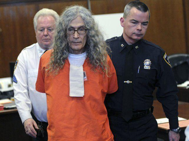Rodney Alcalá durante el tercer y último juicio. Lo condenaron a muerte por al menos 5 asesinatos.