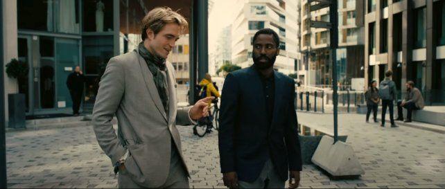 John David Washington y Robert Pattinson encabezan un elenco que se completa con Michael Caine y Kenneth Branagh.