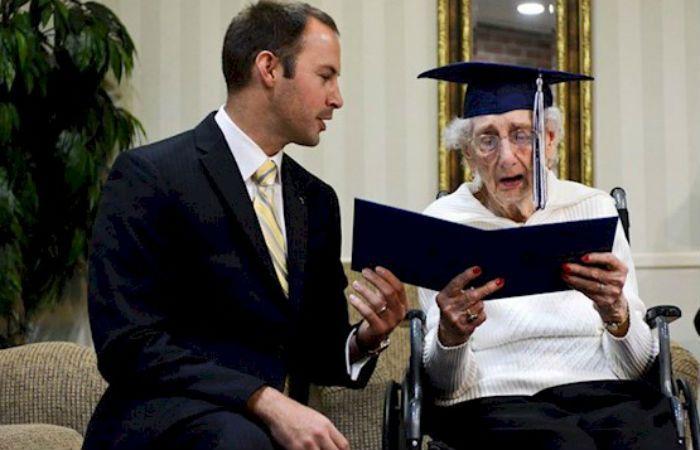 La abuela de 97 años