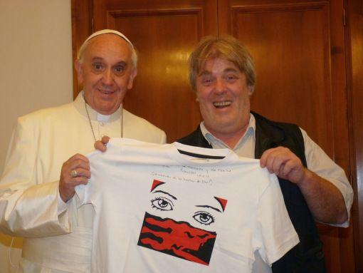 El Papa Francisco tiene una relación estrecha con el titular de La Alameda