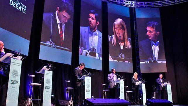 Antecedente. Los dos primeros debates presidenciales de la historia se realizaron en 2015.