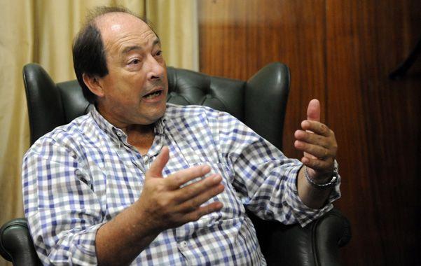 Ernesto Sanz se reunió en las últimas horas con dirigentes del radicalismo local buscando un marco de unidad. (Foto: G. de los Ríos)