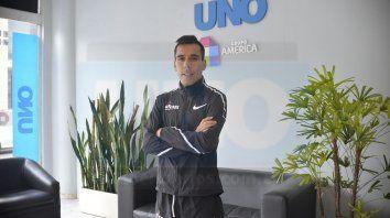 El paranaense Julián Molina, radicado en Rosario vino a su ciudad natal después de mucho tiempo y pasó por Diario UNO donde repasó su buen momento dentro de la disciplina.