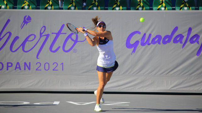 Nadia Podoroska llega a Miami tras disputar los torneos de Guadalajara y Monterrey.