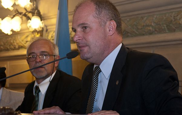 Vicegobernador. Jorge Henn presidió la Asamblea Legislativa.