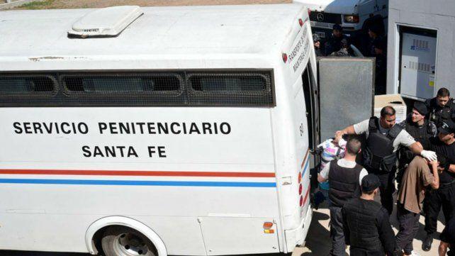 Recapturaron al preso que escapó esta mañana cuando era trasladado al penal de Pérez