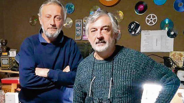 Gestores. El profesor Norberto Pellegrini y el empresario Mauricio Gallo.