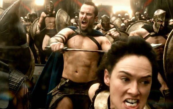 No pasarán. Temístocles (Sullivan Stapleton) enfrenta al rey persa Jerjes por el control de las ciudades griegas.