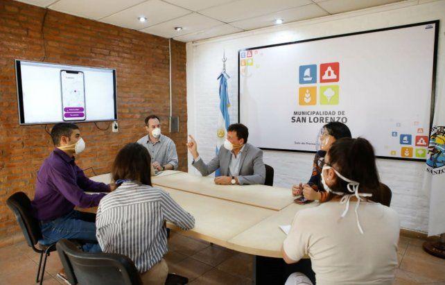 En San Lorenzo ya funciona una línea para emergencias de género