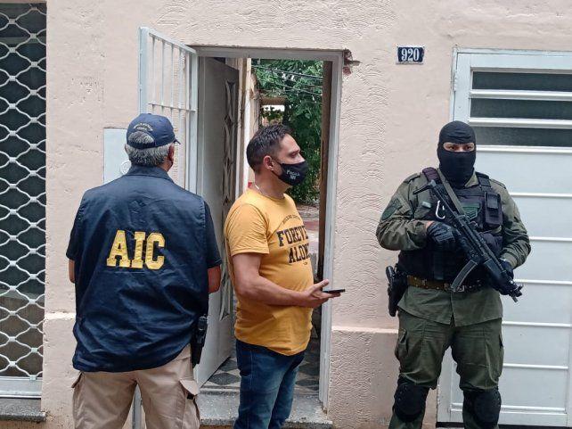 Una de las casas usurpadas por la banda y que fue allanada la seman pasada.