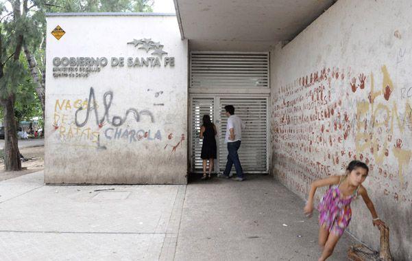 El centro de salud  había sido inaugurado en 2010 para descomprimir de pacientes al Sáenz Peña. (Foto: S. Salinas)
