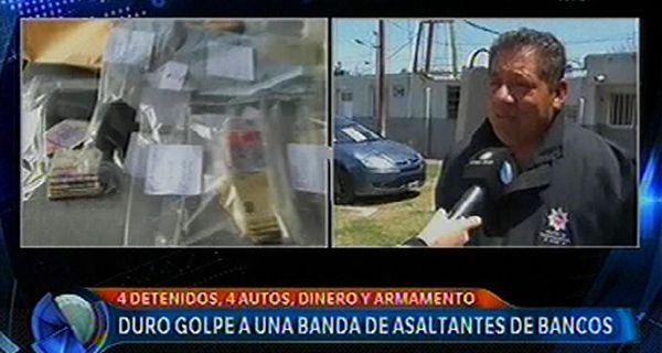 La Policía de Investigaciones realizó los allanamientos en Rosario y Granadero Baigorria.
