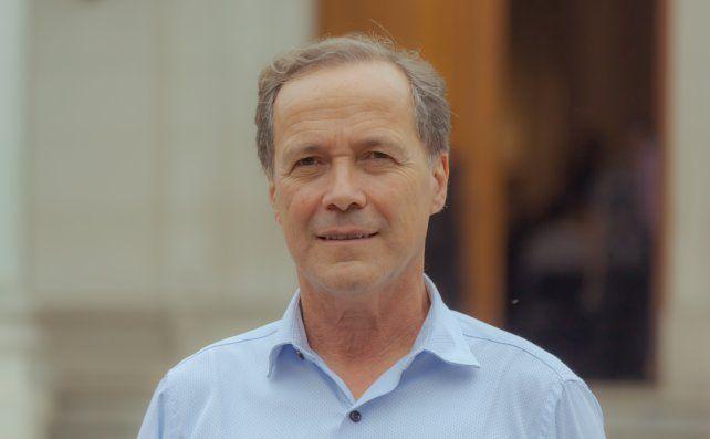 El diputado provincial Rubén Giustiniani (Igualdad)