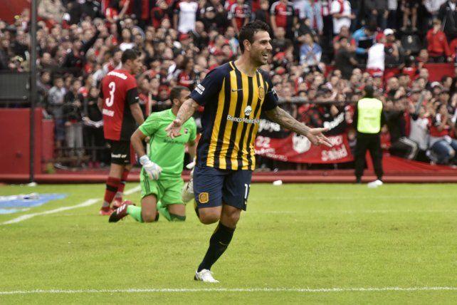 El Chaqueño tuvo una buena temporada. Se dio el gusto de marcarle un gol a Newells en el Coloso.