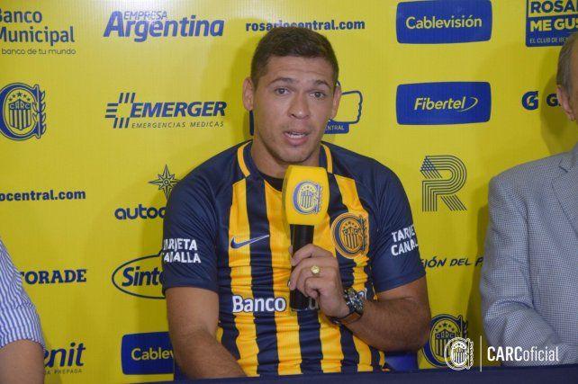 El paraguayo Leguizamón dijo que vino a Central a hacer muchos goles de cabeza y tiro libre