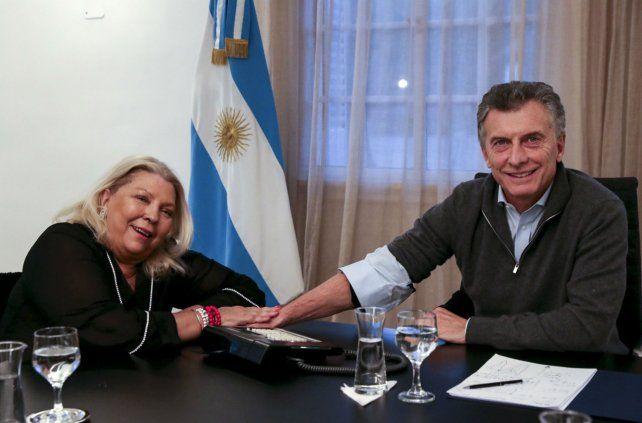 Carrió y Macri mantienen un diálogo permanente