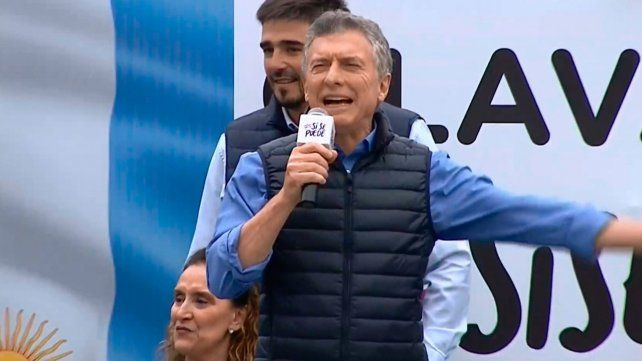 Macri: No les digo desde ningún atril lo que tienen que pensar