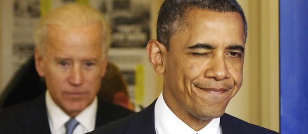 Respiro. Con ayuda del vicepresidente Biden