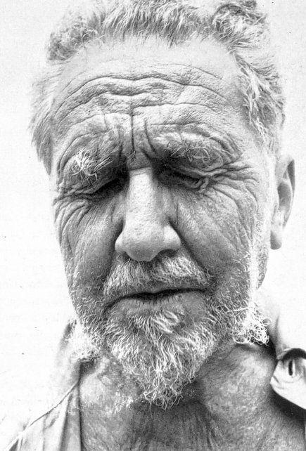 El gran poeta estadounidense Ezra Pound.