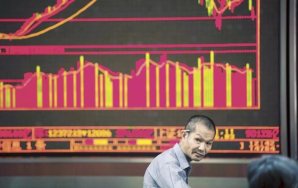 Incertidumbre. Los mercados internacionales tuvieron un día de alivio ayer