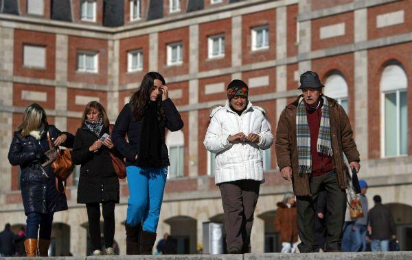 La Rambla marplantense cobra vida con los turistas.