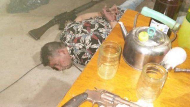 Raúl Ezequiel M. fue detenido el sábado pasado con cinco armas de grueso calibre