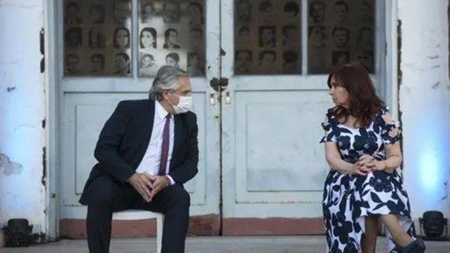 Alberto Fernández y Cristina Kirchner encarnan una sociedad política que no siempre se muestra homogénea.