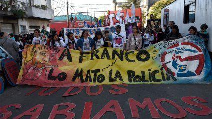 Una de las marchas que organizaron los familiares para exigir justicia.-