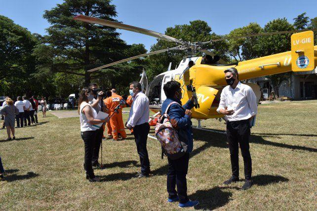 El servicio UTV Aeroemergencias será parte del operativo ante accidentes u otros eventos