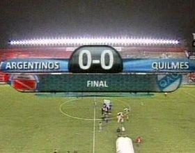 Argentinos no pudo con Quilmes y se quedó con las ganas de llegar a la cima