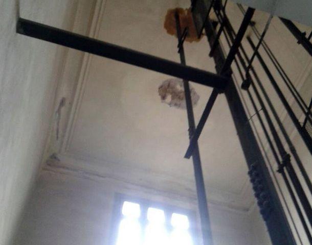 Los chicos del Poli reclaman respuestas por las condiciones edilicias. (Foto: Facebook Cep Politécnico)