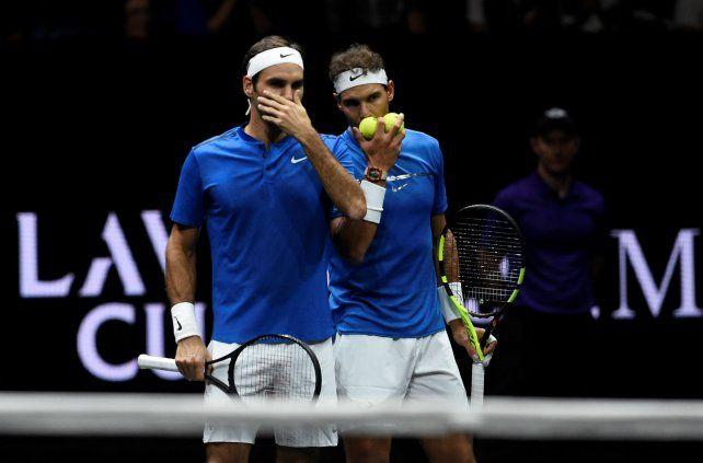 Estrategia. Federer y Nadal