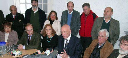 Binner dijo que fueron respaldadas las gestiones del Frente Progresista