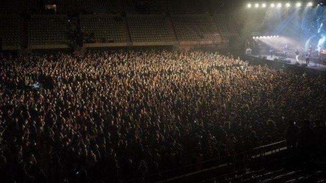 El experimento fue realizado en el Palau Sant Jordi ante 5 mil asistentes.