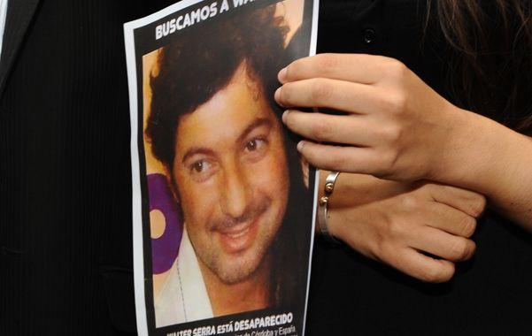 Ocho meses. Walter Serra había sido visto por última vez el 24 de octubre de 2012 en Córdoba y España.