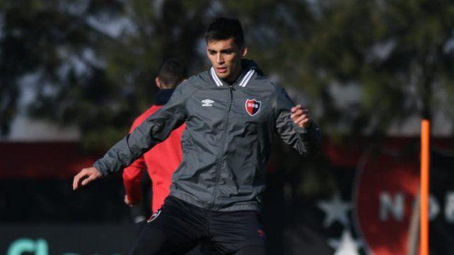Juan Garro debutó con un gol ante Talleres. Mañana jugará desde el inicio.