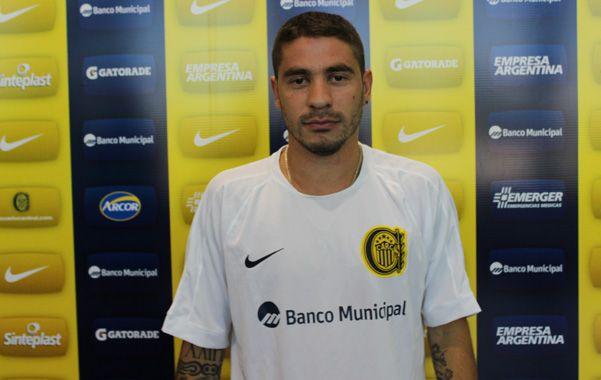 Uno que juega. Fernández viene de tener regularidad en Godoy Cruz.