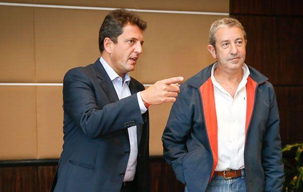 Vendimia solidaria. Sergio Massa y Julio Cobos se mostraron juntos y exhibieron preocupación por la seguridad.