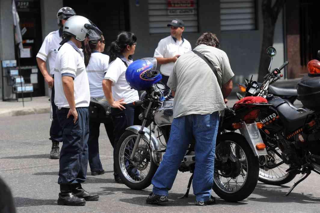 García además valoró los operativos de control de motos en calle. (Foto: C.Mutti Lovera)