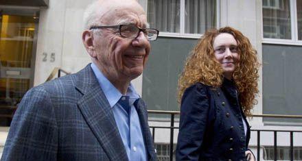 Murdoch entrega a una figura clave de su imperio mediático británico
