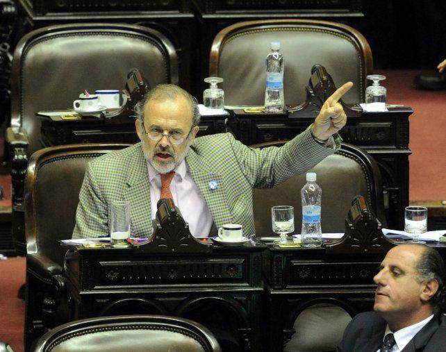 El diputado macrista Eduardo Amadeo.