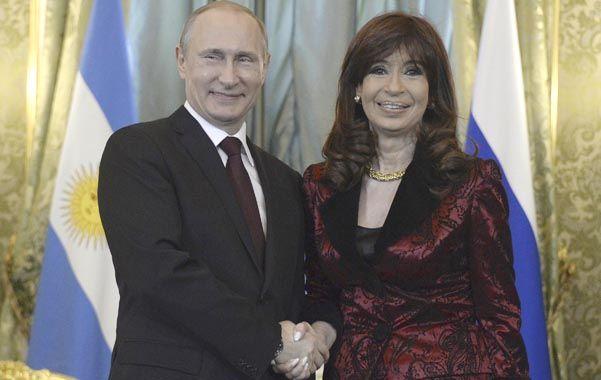 relación. Cumbre entre el presidente de Rusia