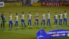 El único partido de esta copa en el Gigante fue ante San Lorenzo.