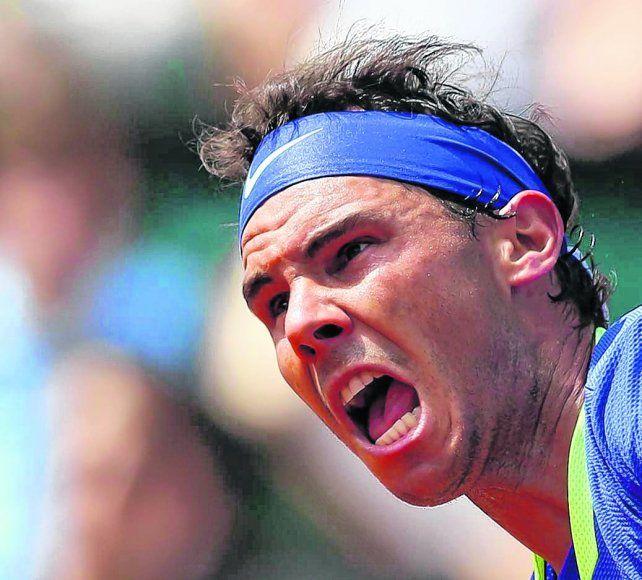 El rugido. Ningún otro tenista ganó jamás 10 veces el mismo torneo. Rafa lo hizo en tres.