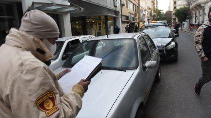 Los agentes municipales realizaron 200 operativos en las calles.