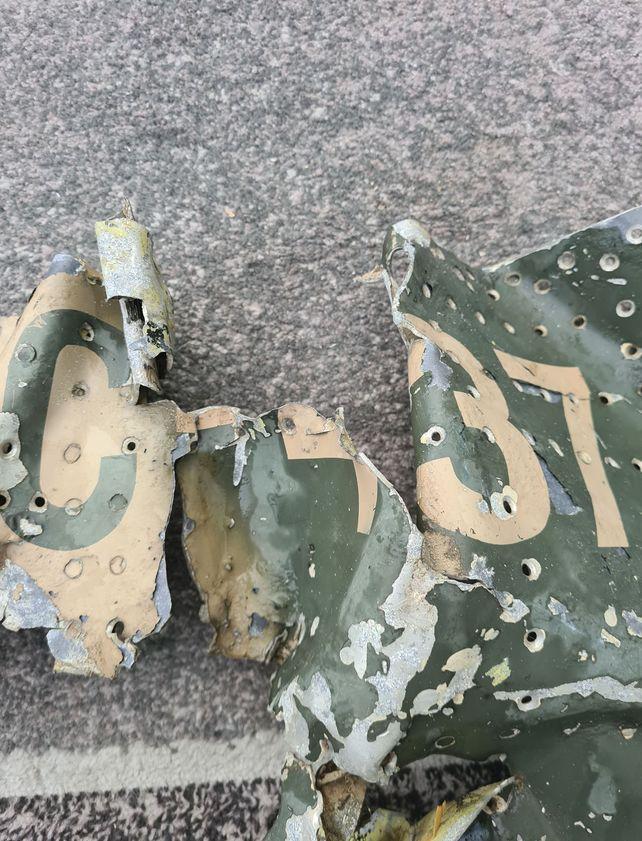 El avión Dagger de la Fuerza Aérea Argentina fuer derribado el 23 de mayo de 1982.