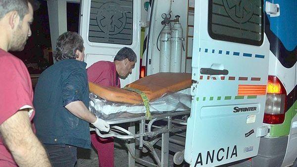 Las ambulancias no alcanzaban para atender a los heridos.